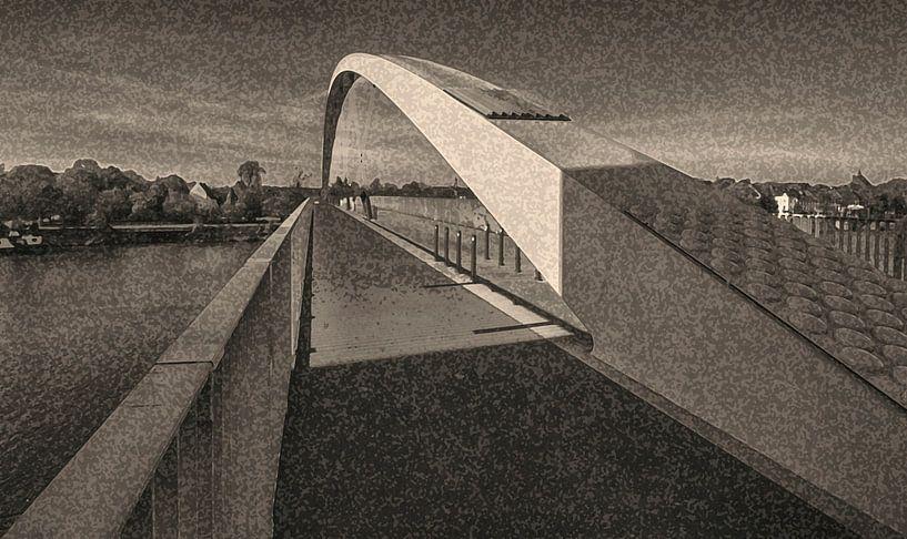 brug met boog van Corrie Ruijer
