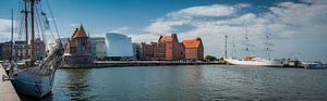Panorama von Stralsund, Deutschland
