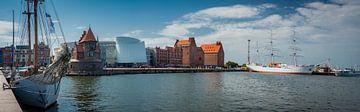 Panorama von Stralsund, Deutschland von Rietje Bulthuis
