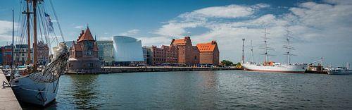 Panorama van Stralsund, Duitsland