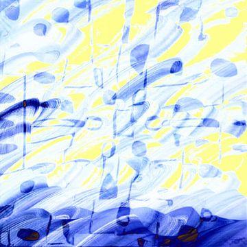 Pinselstriche XXI von Maurice Dawson