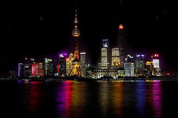 Shanghai Skyline von Richard Seijger