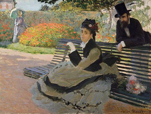 Camille Monet van Claude Monet van