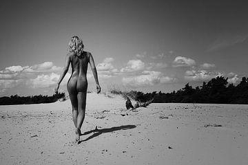 I feel Free (nude / naakt) von Kees de Knegt