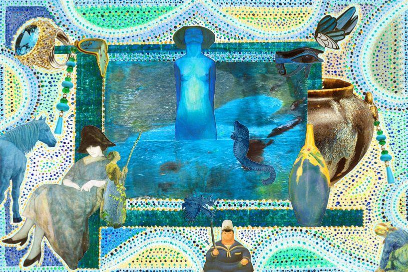 blue revelation van Hella Kuipers