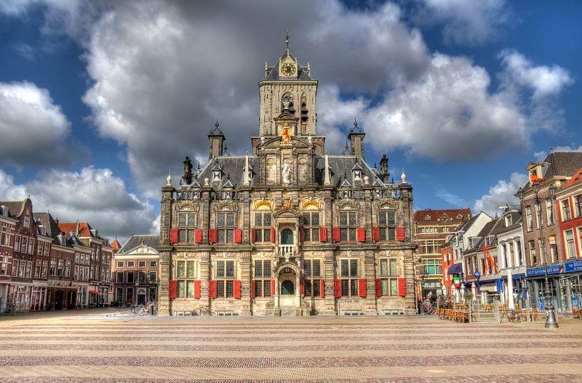 Stadhuis van Delft van Jan Kranendonk