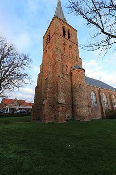 L'église Catharina de Zoutelande sur Wendy Hilberath