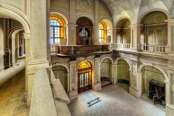 Die Kirche mit der Orgel von Erik Borst