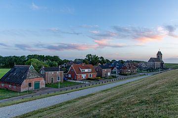 Het dorp Wierum. van Erik de Rijk