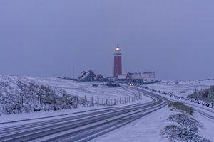 L'hiver sur le phare de Texel Eierland