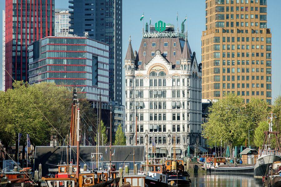 De Haringvliet, het Witte Huis en Wijhavenkwartier in Rotterdam van Mark De Rooij