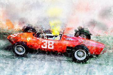 Ricardo Rodriguez, Ferrari 156 Sharknose von Theodor Decker