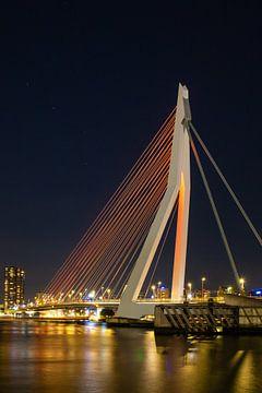 De Erasmusbrug van Rotterdam van Petra Brouwer