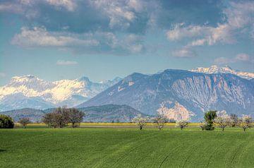 La montagne cassée von Georges Rudolph