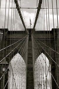 Brooklyn Bridge van Paul Riedstra