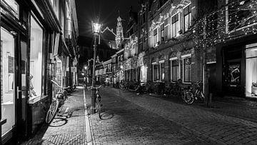 Haarlem Warmoesstraat von Scott McQuaide