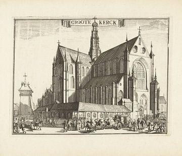 Die Grote oder St. Bavokerk in Haarlem
