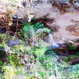 Felsenlandschaft van Peter Norden