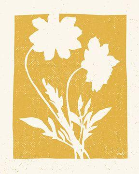Joyful Frühling I Golden Yellow, Moira Hershey von Wild Apple