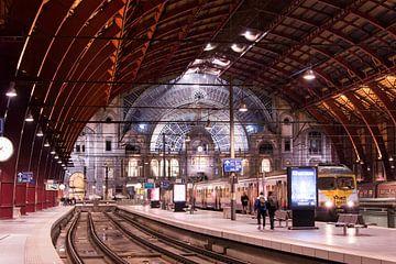 Vertrekhal Antwerpen Centraal sur Sophie Wils