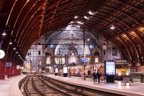 Vertrekhal Antwerpen Centraal van