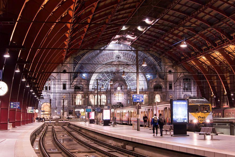Vertrekhal Antwerpen Centraal van Sophie Wils