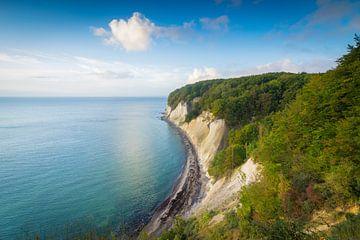 Kreideküste auf Rügen von Martin Wasilewski