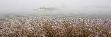 Winter in de Alblasserwaard van Ko Hoogesteger