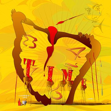 Time Hommage Dali JM0615 van Johannes Murat