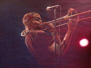 Trombone Shorty von Frans Mandigers