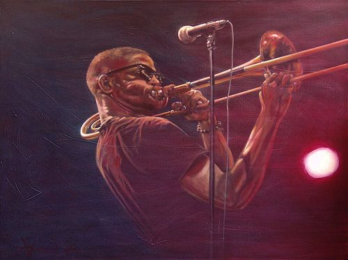 Trombone Shorty van Frans Mandigers