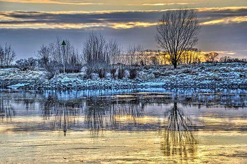 Zonsondergang in Zutphen