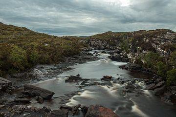 Wasserfall in Schottland von Sharona Sprong