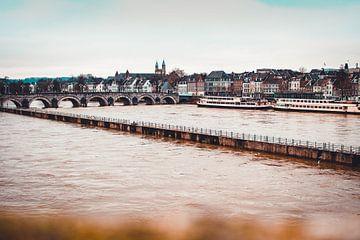 Ebbe und Flut in Maastricht von Floor Schreurs