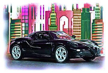 Cuore Sportivo ... Alfa Romeo 4C