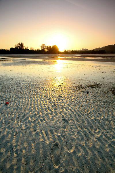 Sonnenuntergang auf Koh Phayam von Levent Weber
