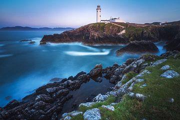 Irloand Fanad Head Leuchtturm zur blauen Stunde von Jean Claude Castor