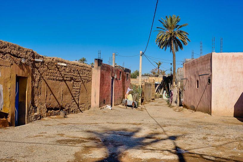 Straatje in dorpje van Els Hattink