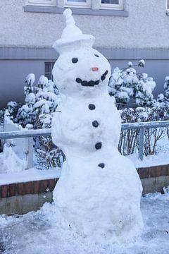 Sneeuwpop, Bremen, Duitsland, Europa van Torsten Krüger