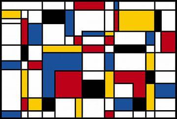 Komposition-II-Piet Mondrian von Marion Tenbergen