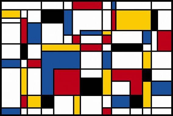 Samenstelling II Piet Mondriaan