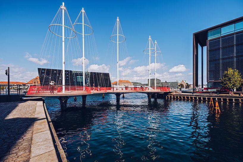 Copenhagen - Cirkelbroen Bridge van Alexander Voss