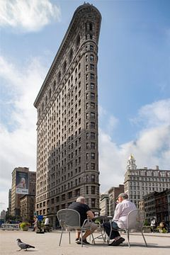 Flatiron Building New York von Pat Desmet