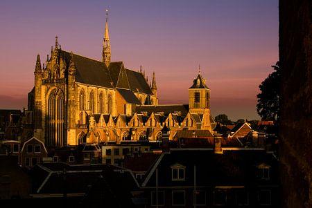 Hooglandse Kerk Painted in Gold von M DH