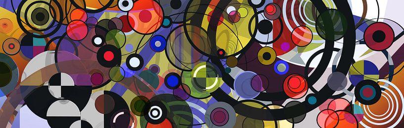 Composition abstraite 122 van Angel Estevez