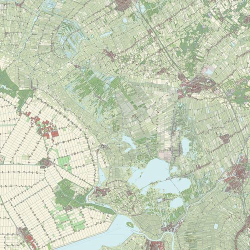 Kaart vanSteenwijkerland