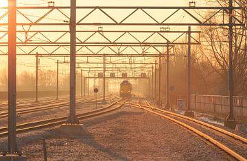 Sunny Rails von Sander van der Werf