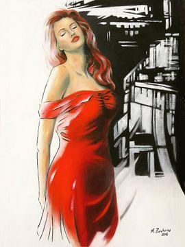 Sinnlichkeit - erotisches Frauenportrait von Marita Zacharias