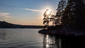 Sonnenaufgang auf Stora Le von Sven Vergeylen