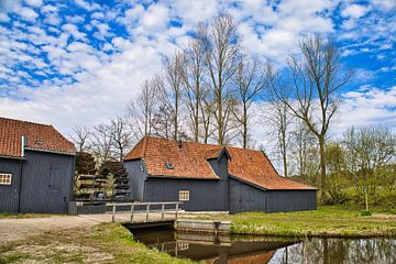 Van Gogh's Collse watermolen van Harry Hadders